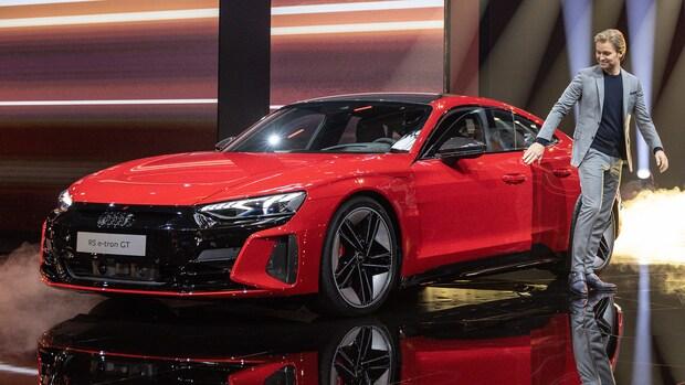 Audi onthult elektrische sedan met bijna 500 km bereik