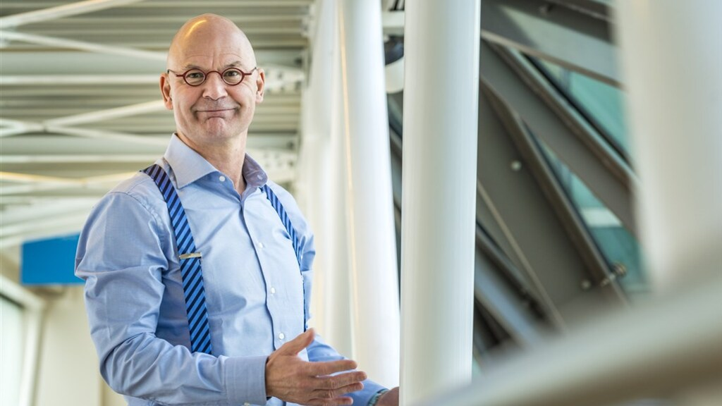 Martijn Gribnau, bestuursvoorzitter van de Volksbank.