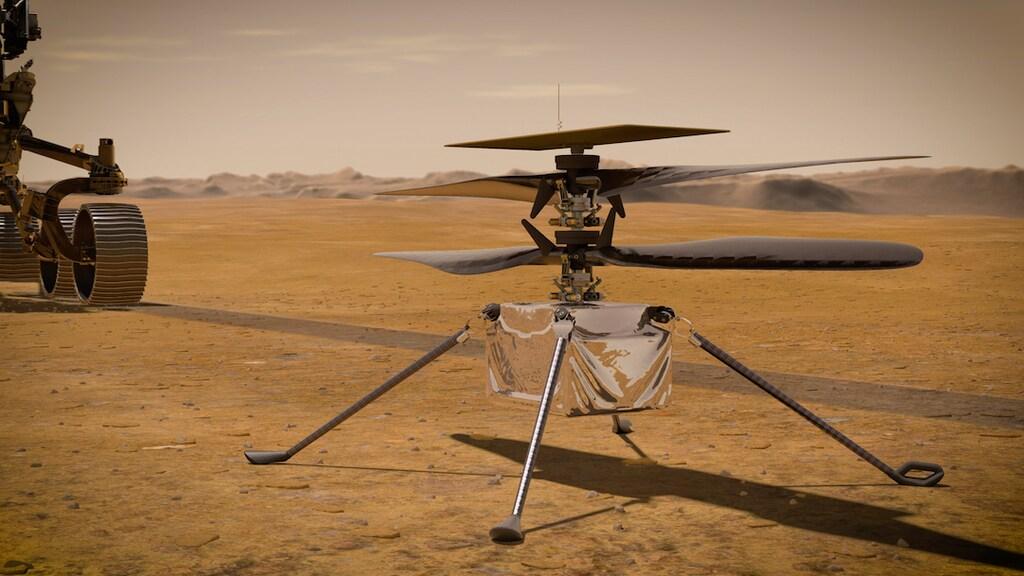 De ontwikkeling van de Ingenuity-helikopter kostte zo'n 70 miljoen euro.