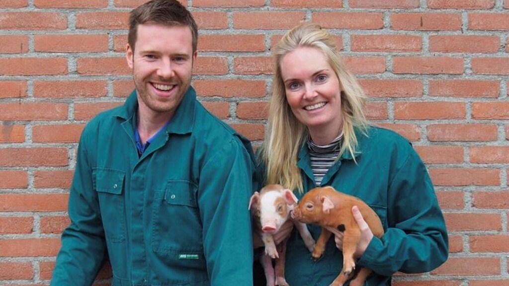 Melissa en Paul van de Duroc Hoeve.