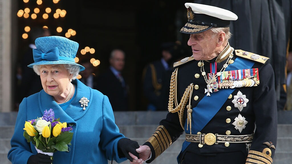 Queen Elizabeth en Prince Philip in 2015