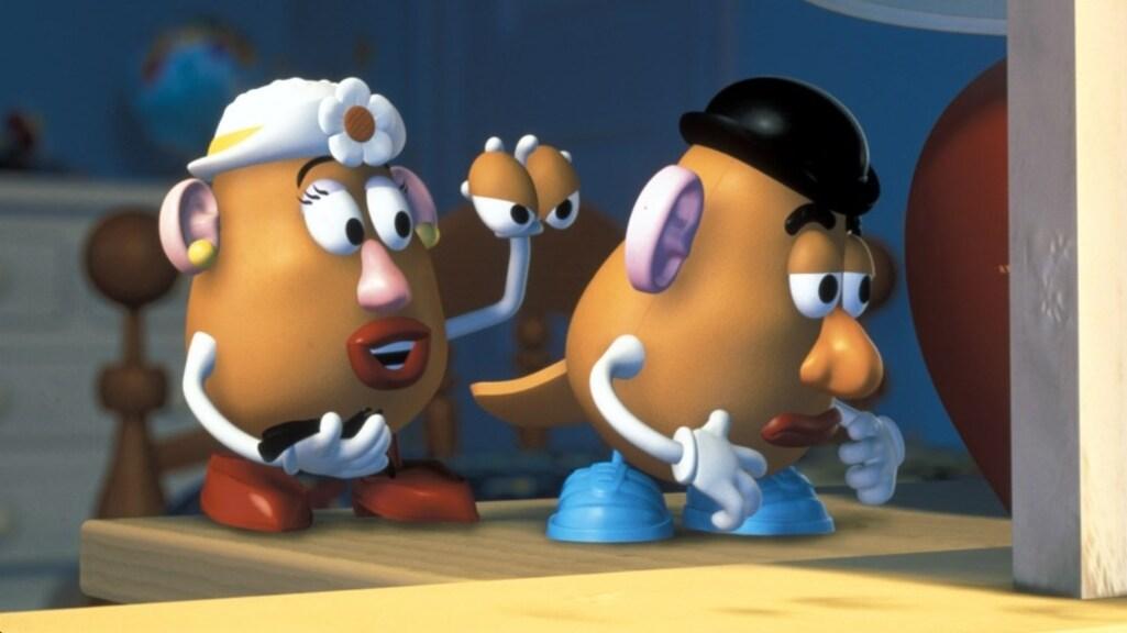 Een beeld uit de Toy Story-filmreeks