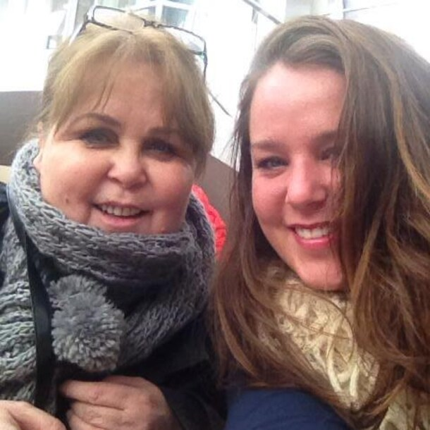Patty, samen met dochter Tamara