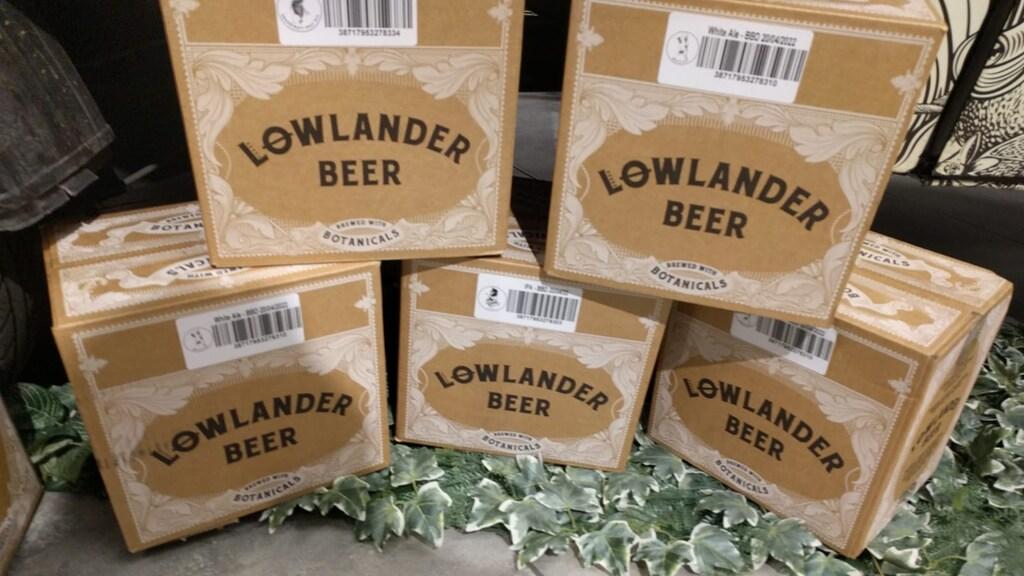 In het bier zitten dennennaalden verwerkt.