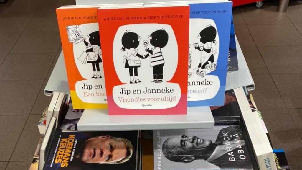 Op verzoek zijn er nu ook kinderboeken toegevoegd aan de stapel.