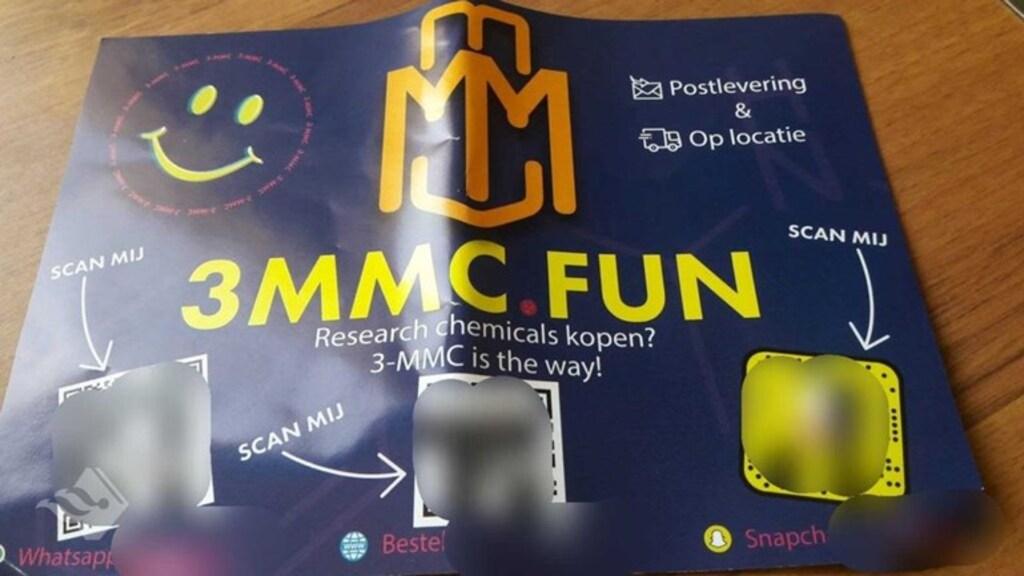 Een 3-mmc poster.