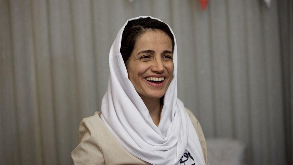 Advocaat en mensenrechtenactiviste Nasrin Sotoudeh