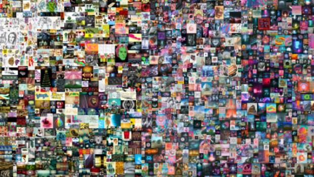 Kunstenaar zet veilingrecord met totaal digitaal kunstwerk