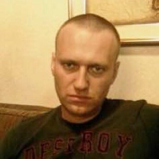 De foto bij Navalny's bericht.