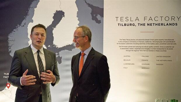 Tesla stopt met afbouwen auto's in fabriek in Tilburg