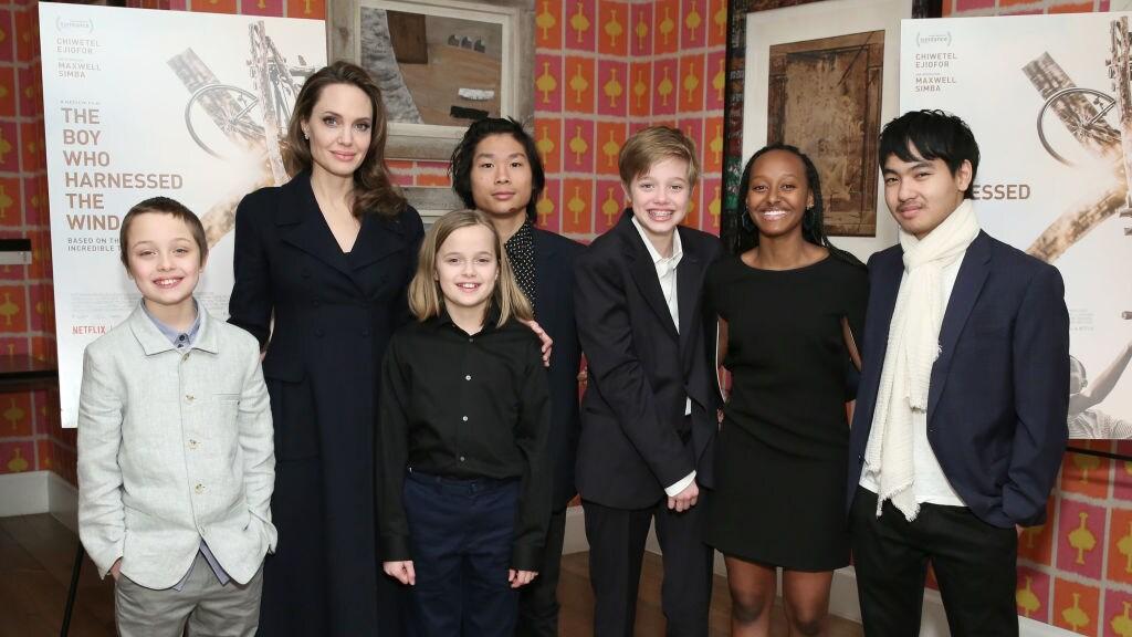Angelina Jolie en kids