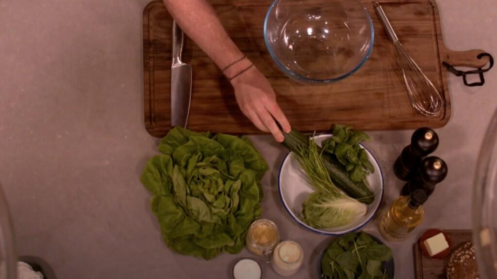 Ingrediënten voor de salade