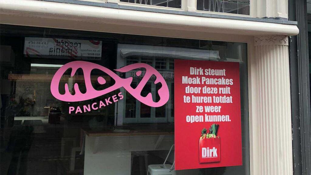 Pannekoekenzaak Moak Pancakes in Amsterdam is blij met het initiatief.