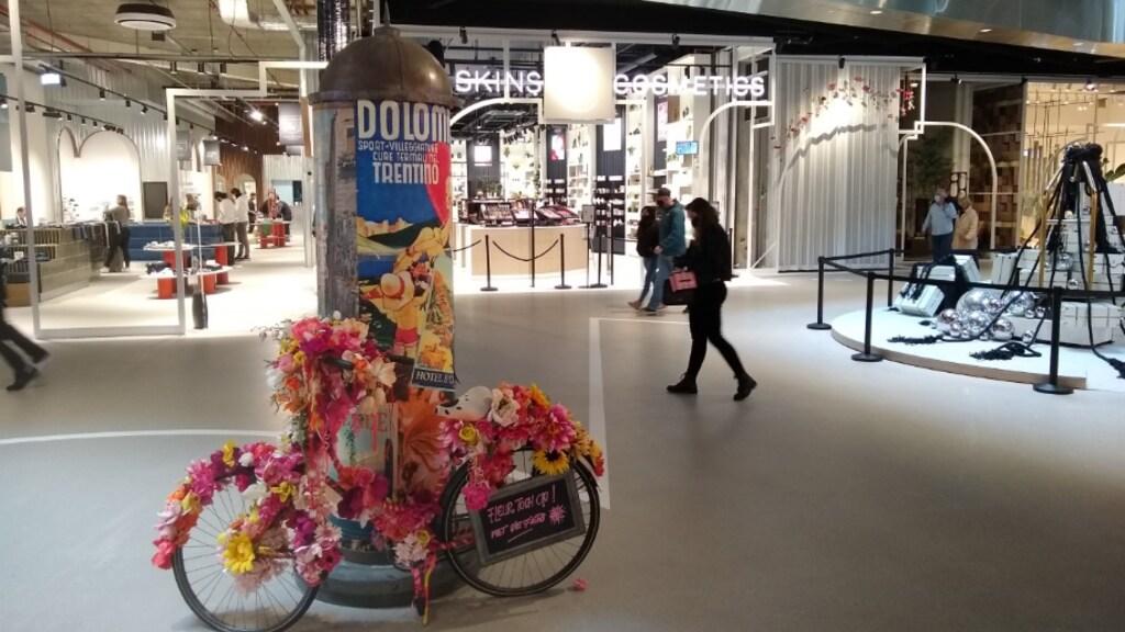 The Gallery, volgens Unibail-Rodamco-Westfield gemodelleerd naar De Negen Straatjes in Amsterdam.