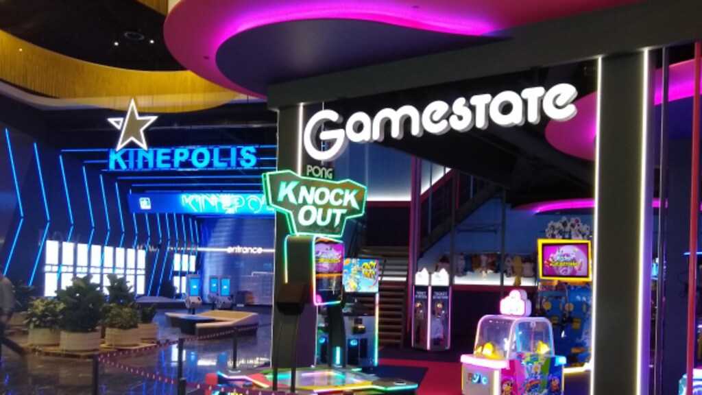 De bioscoop, het 'eettheater' en de plek waar bezoekers spelletjes kunnen doen, zijn vanwege corona nog dicht.