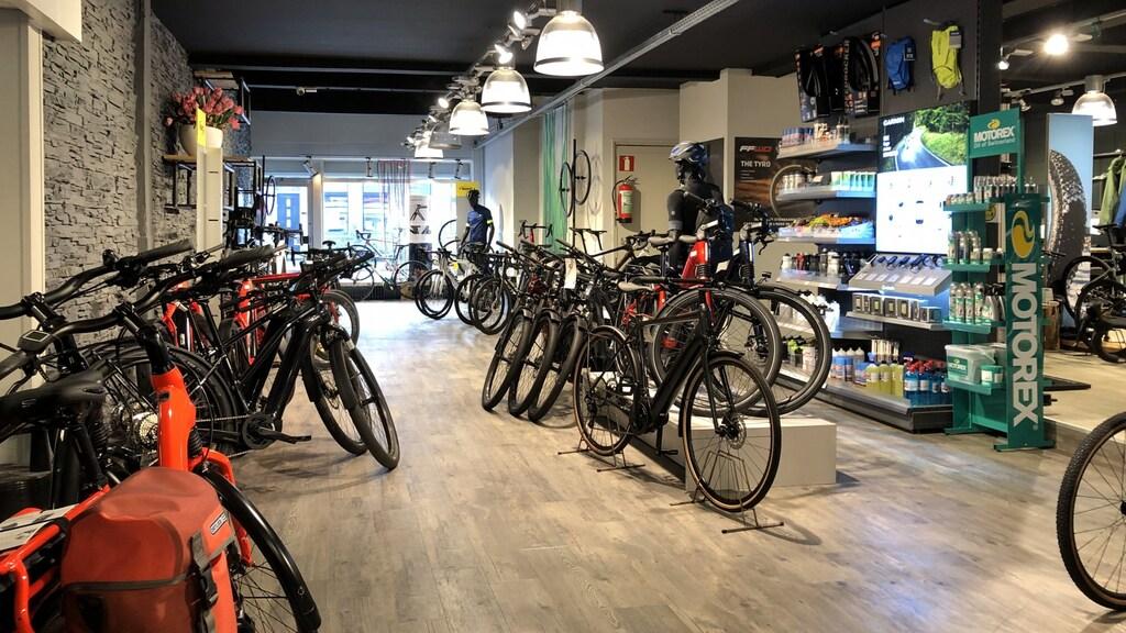 Bike Centre Dik in Groningen.