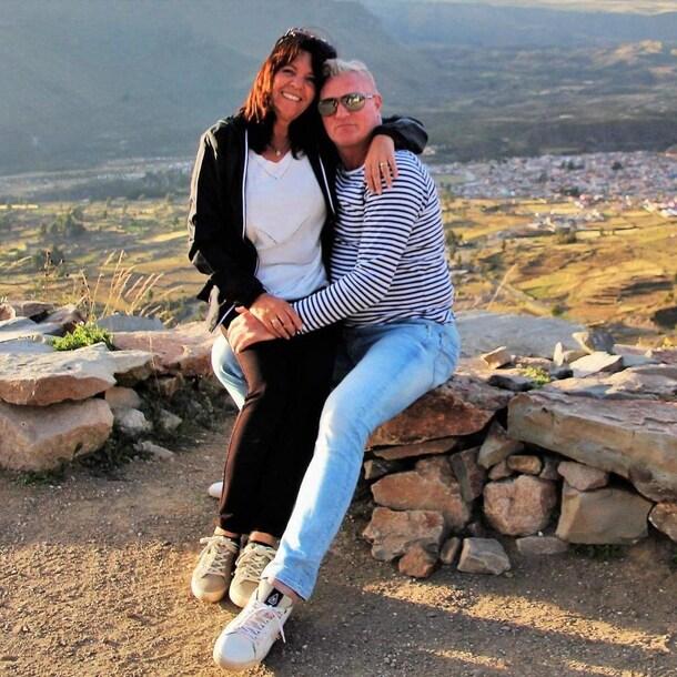 Yvonne Rijsdijk van de Velden en haar man hopen na een gecancelde eerdere vakantie, nu geluk te hebben.