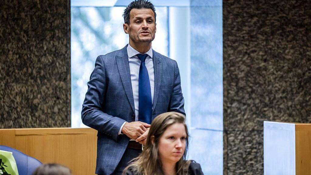 Farid Azarkan is vandaag opnieuw beëdigd als Tweede Kamerlid.