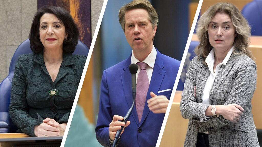 Arib, Bosma en Bergkamp hebben zich kandidaat gesteld voor het voorzitterschap.