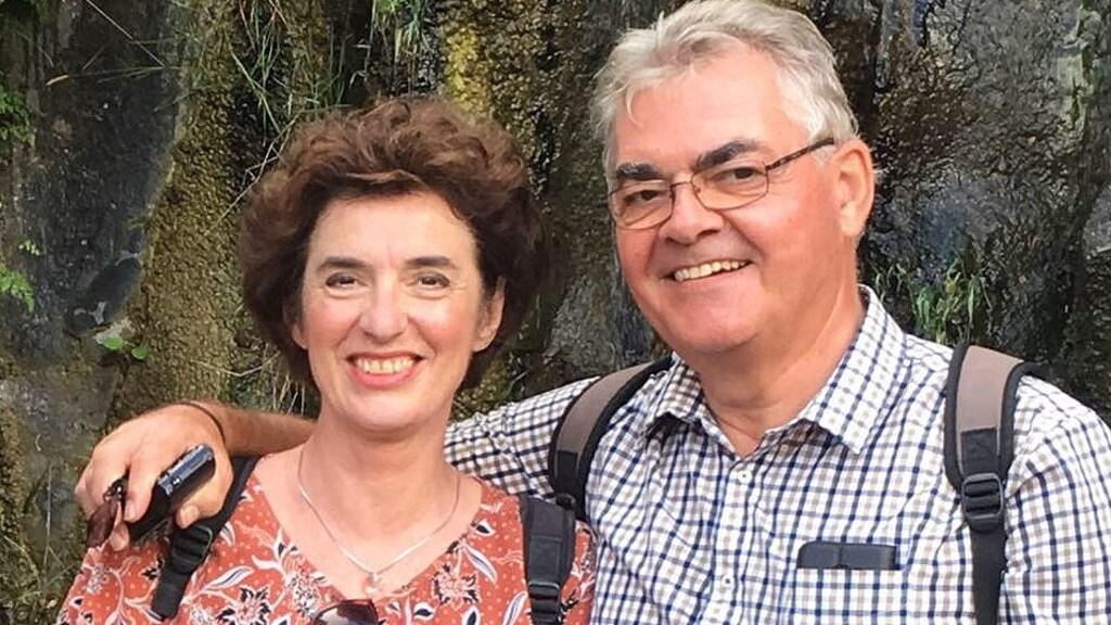 Fred Willems met zijn vrouw Tineke