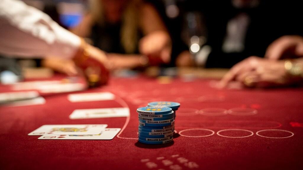 Speeltafel van Holland Casino.