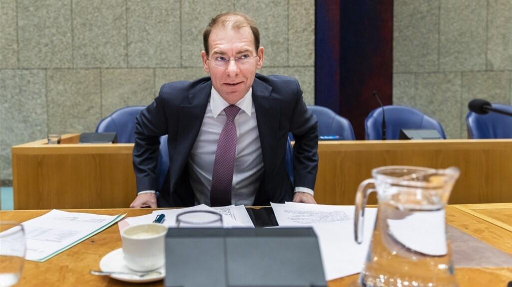 Oud-staatssecretaris Menno Snel van Financiën.