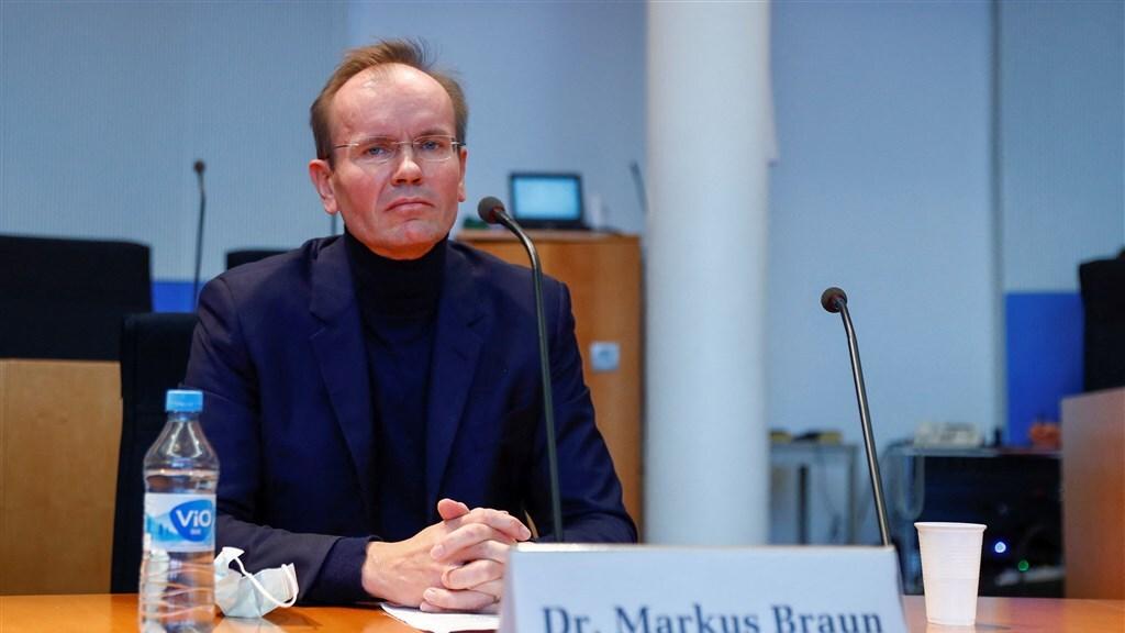 Voormalig Wirecard-topman Markus Braun is in november voor de onderzoekscommissie verschenen.