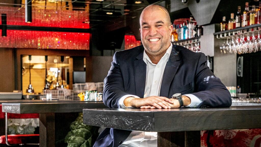 Khalid Oubaha, eigenaar van onder meer café Van Buren in Nijmegen
