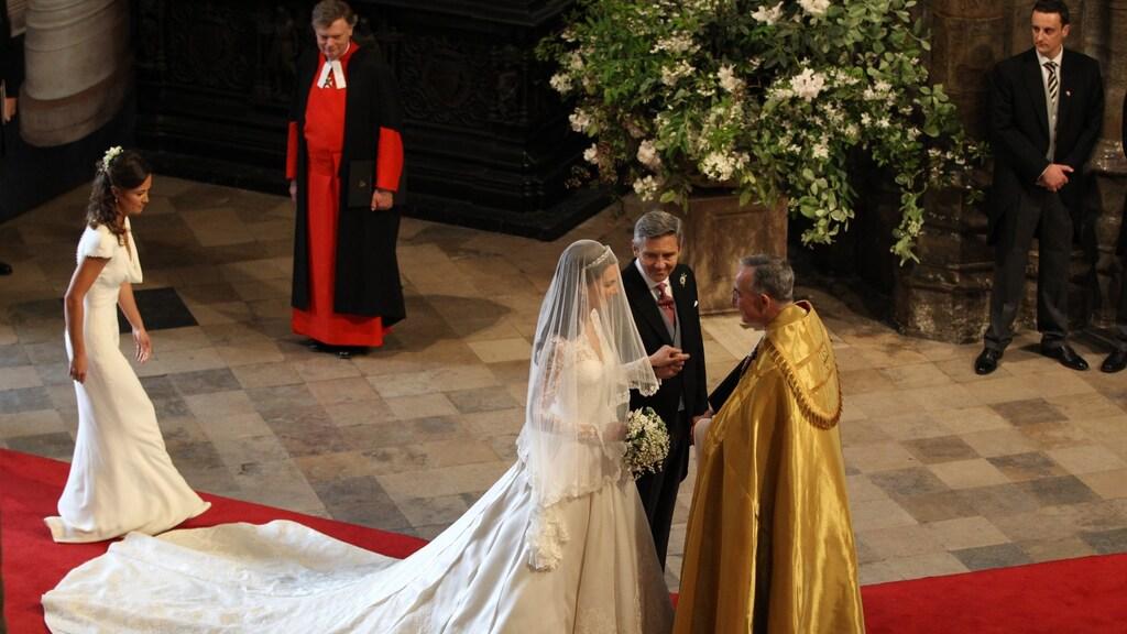 Trouwdag William en Kate