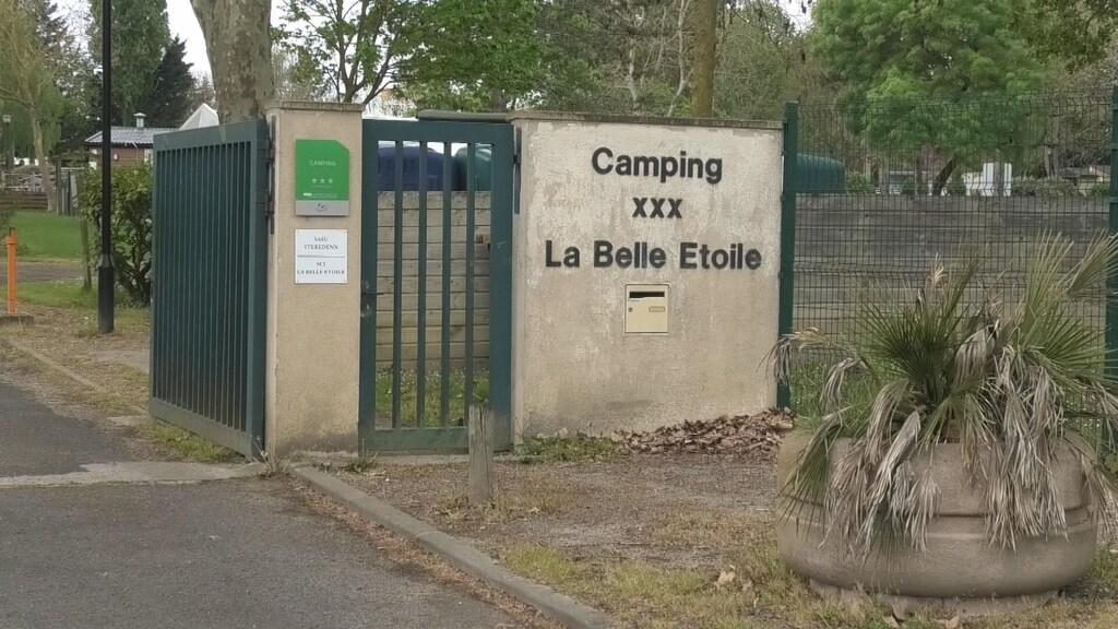 De camping in La Rochette, net ten zuiden van Parijs