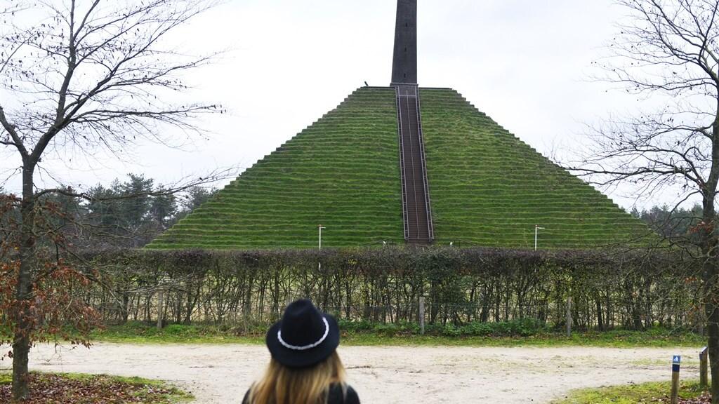 Pyramide van Austerlitz, bij Woudenberg.
