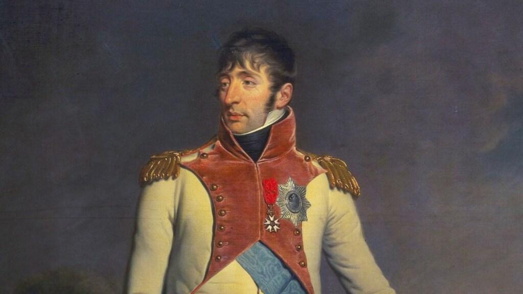 Lodewijk Napoleon, de broer van, en van 1806 tot 1810 'konijn van Olland'.