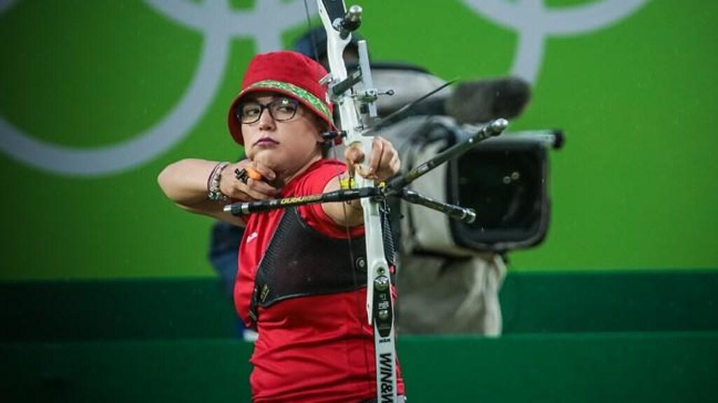 Gabriela in actie op de Olympische Spelen In Rio