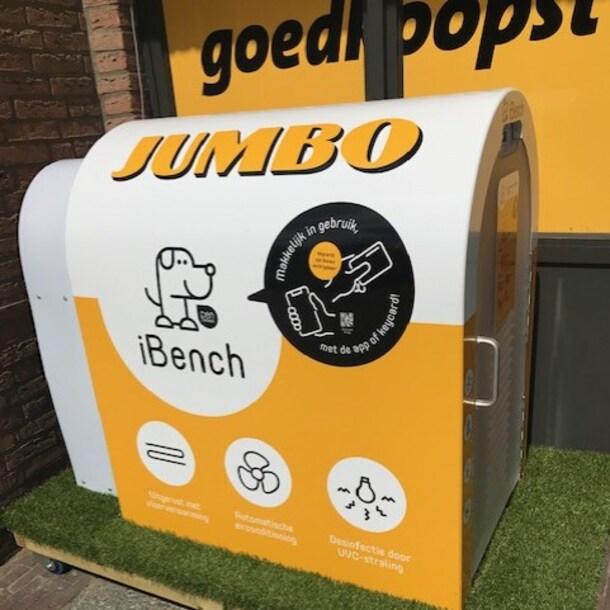 De iBench voor de Jumbo in Budel