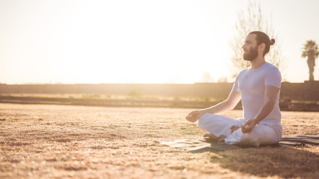 """""""Voor mensen die moeite hebben met slapen, kan meditatie helpen."""""""