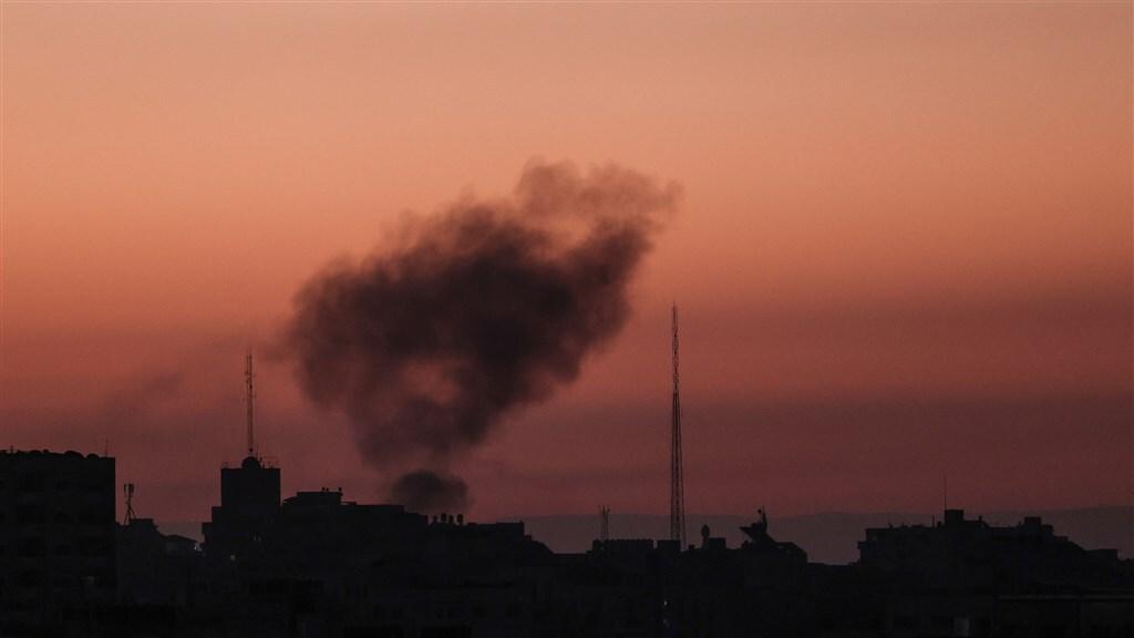 Ook vannacht werden er in het gebied luchtaanvallen uitgevoerd