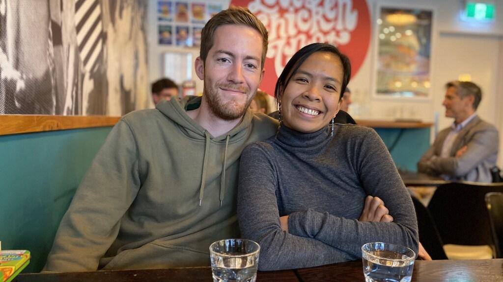 Pierre (links) en Noraiza (rechts) wonen al jaren in Nieuw-Zeeland.