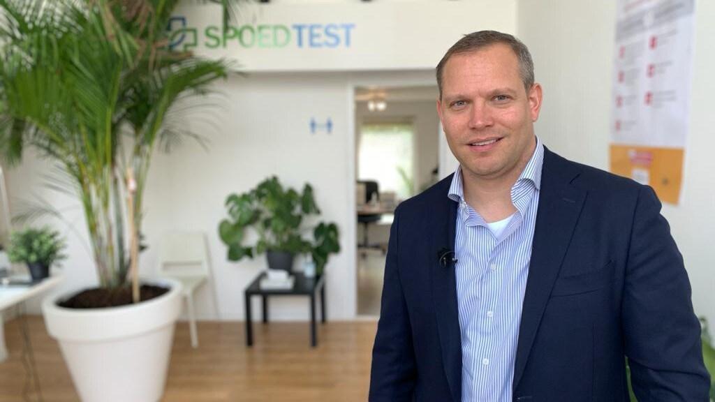 Rasmus Emmelkamp van Spoedtest.nl