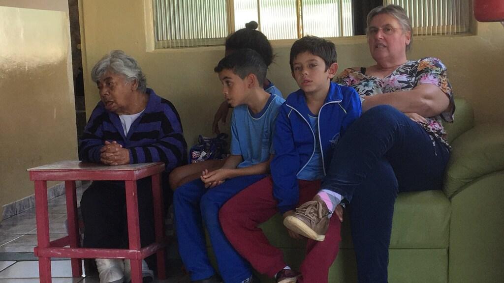 Herma, in Brazilië op de crèche