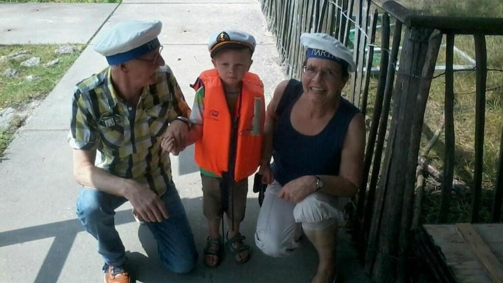 Tini en Willy, met hun kleinzoon