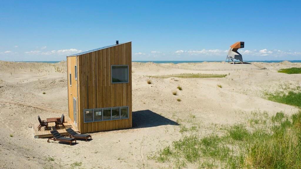 De bungalows op de Marker Wadden zijn van alle gemakken voorzien.