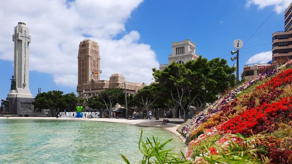 Santa Cruz, de hoofdstad van Tenerife.