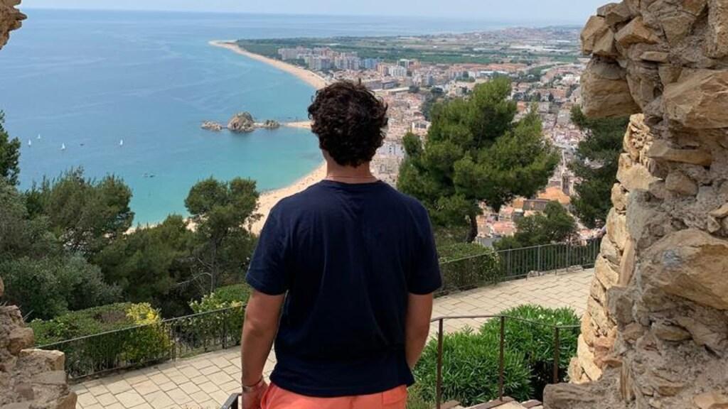 Anthony op vakantie in Spanje