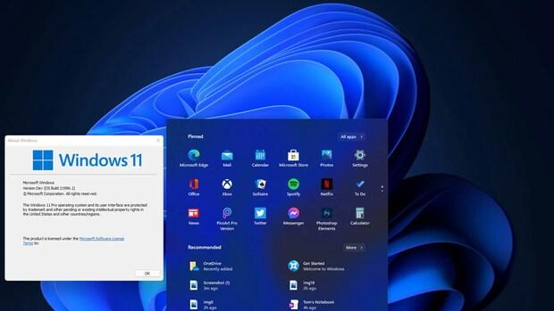 Vroege versie 'Windows 11' uitgelekt: startmenu in het midden