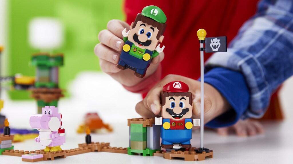 De Mario-broers delen hun score.