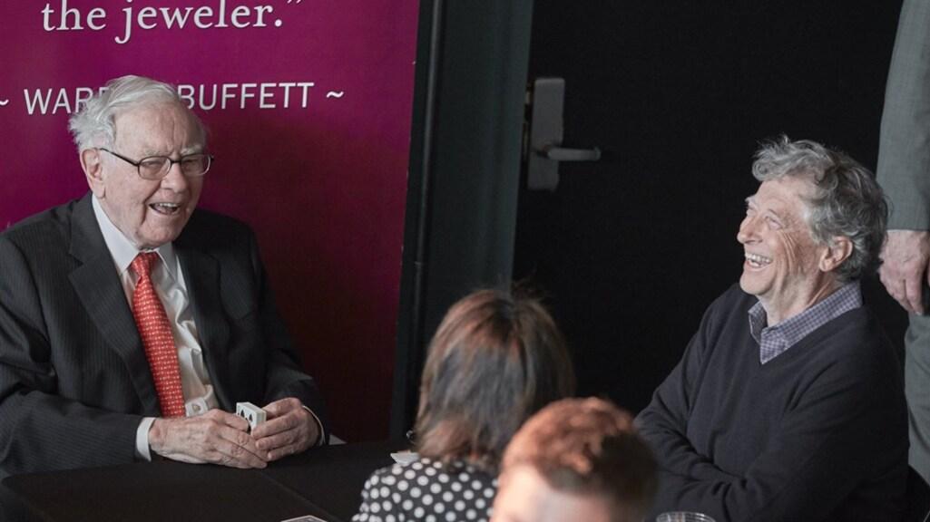 Buffett samen met beste vriend Bill Gates