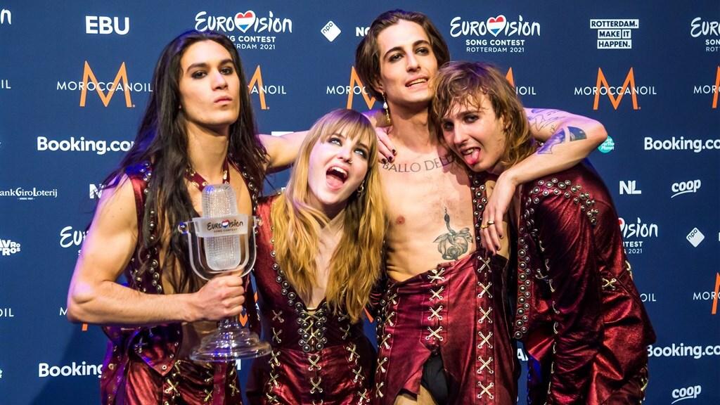 De Italiaanse rockband Måneskin won dit jaar het songfestival. Vanzelfsprekend is het niet, Italië deed jarenlang niet mee.