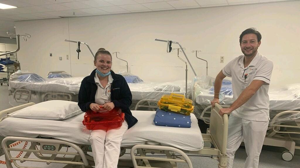 Ogg in het ziekenhuis. Foto: Morris Ogg