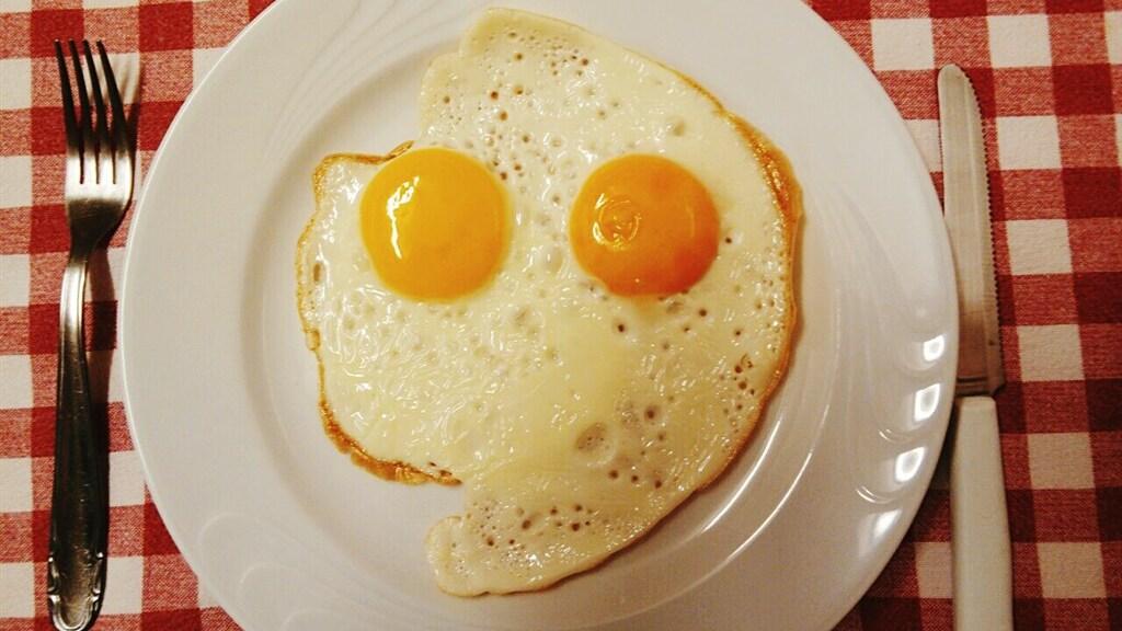 Emotioneel gezien reageert het brein op dit ei alsof het een echt gezicht ziet.