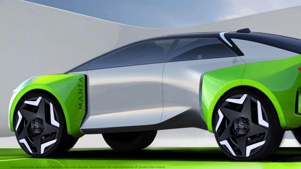 Opel komt met een elektrische Manta